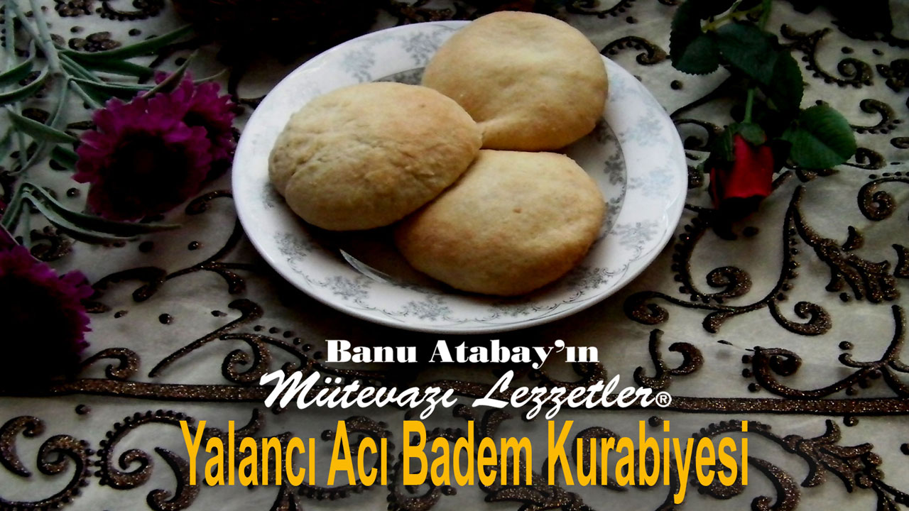 Yalancý Acý Badem Kurabiyesi (görsel)