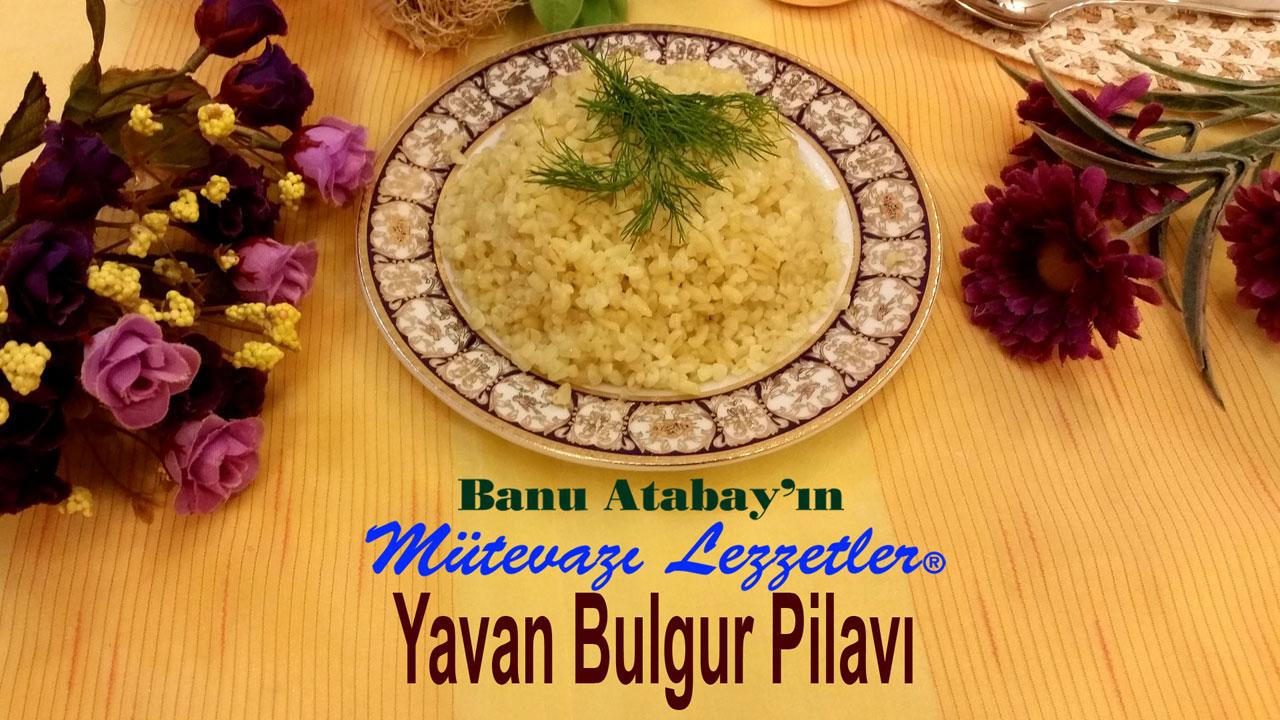 Yavan Bulgur Pilavý (görsel)