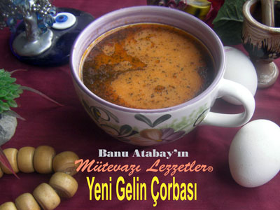Yeni Gelin Çorbası (görsel)