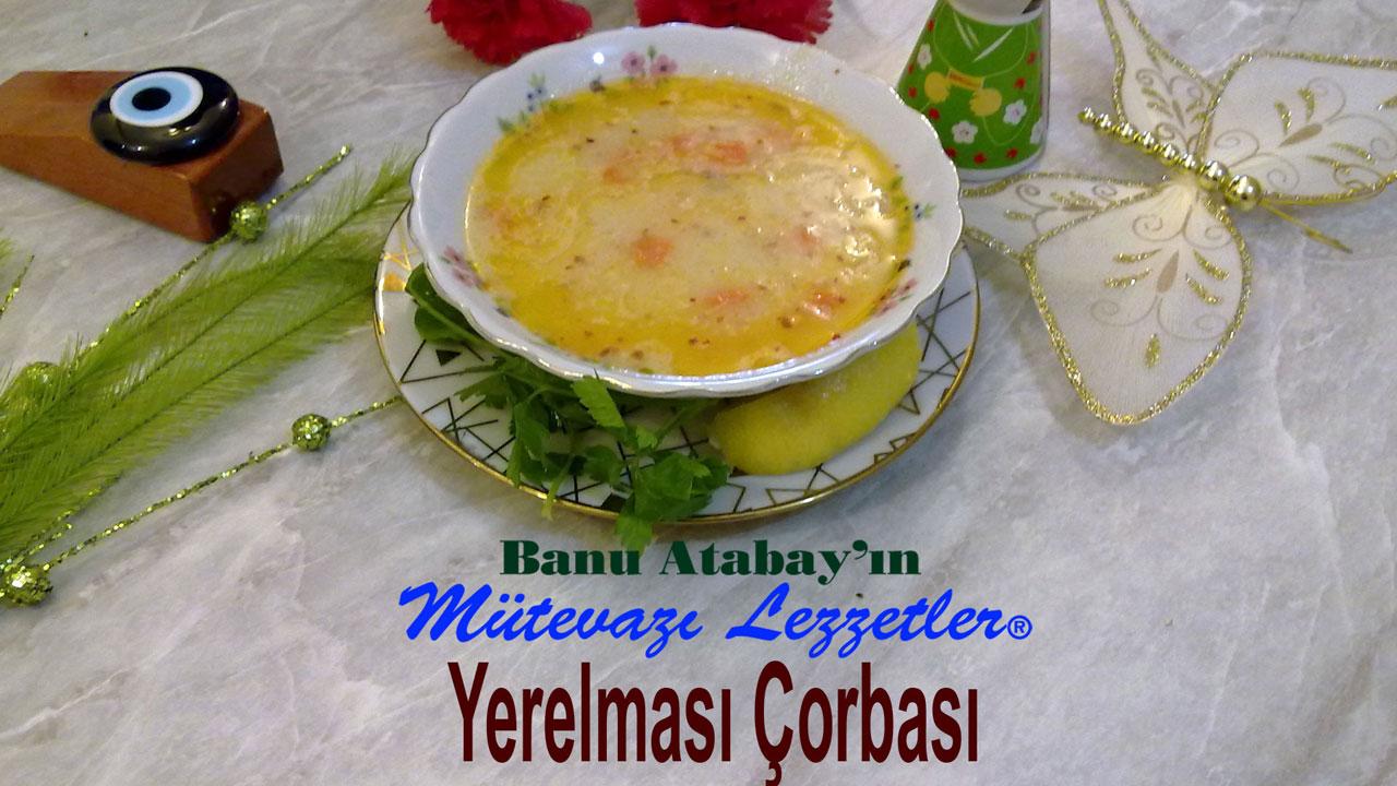 Yerelması Çorbası (görsel)