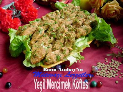 Ye�il Mercimek K�ftesi (g�rsel)