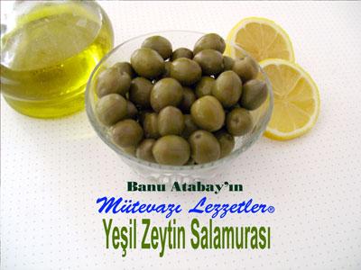 Ye�il Zeytin Salamuras� (g�rsel)