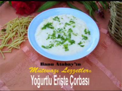 Yoğurtlu Erişte Çorbası (görsel)