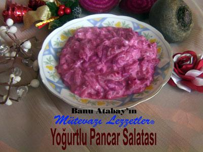 Yoğurtlu Pancar Salatası (görsel)