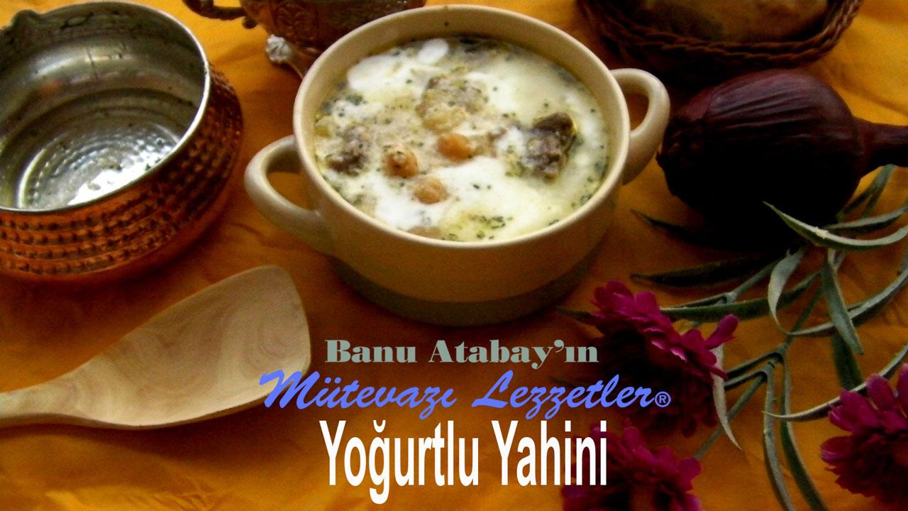 Yoğurtlu Yahini (görsel)