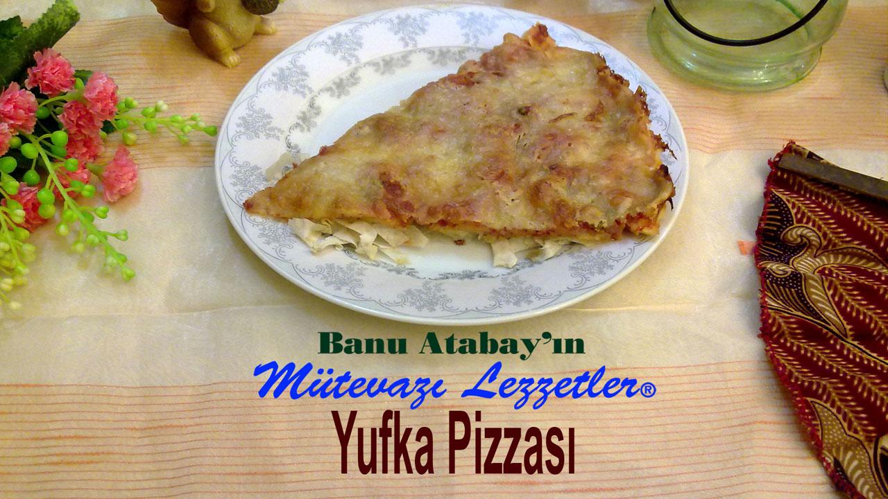 Yufka Pizzası (görsel)