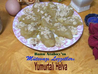 Yumurtalı Helva (görsel)