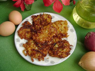Yumurtalı Soğan Kızartması (görsel)
