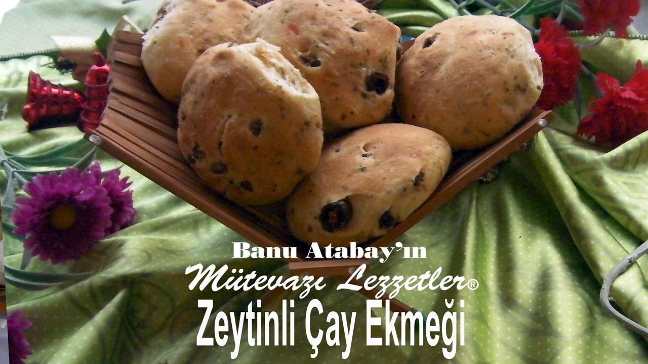 Zeytinli �ay Ekme�i (g�rsel)