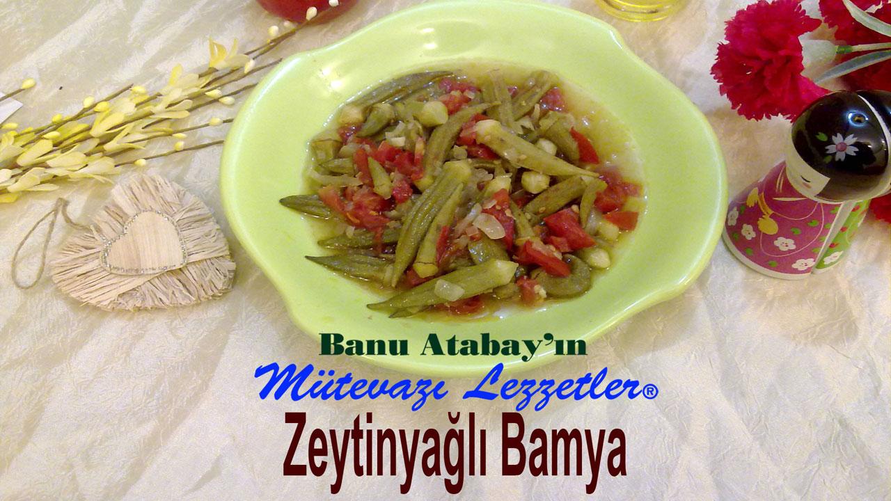 Zeytinyağlı Bamya (görsel)