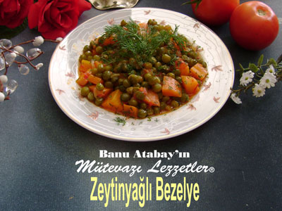 Zeytinyağlı Bezelye (görsel)