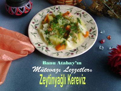 Zeytinyağlı Kereviz (görsel)